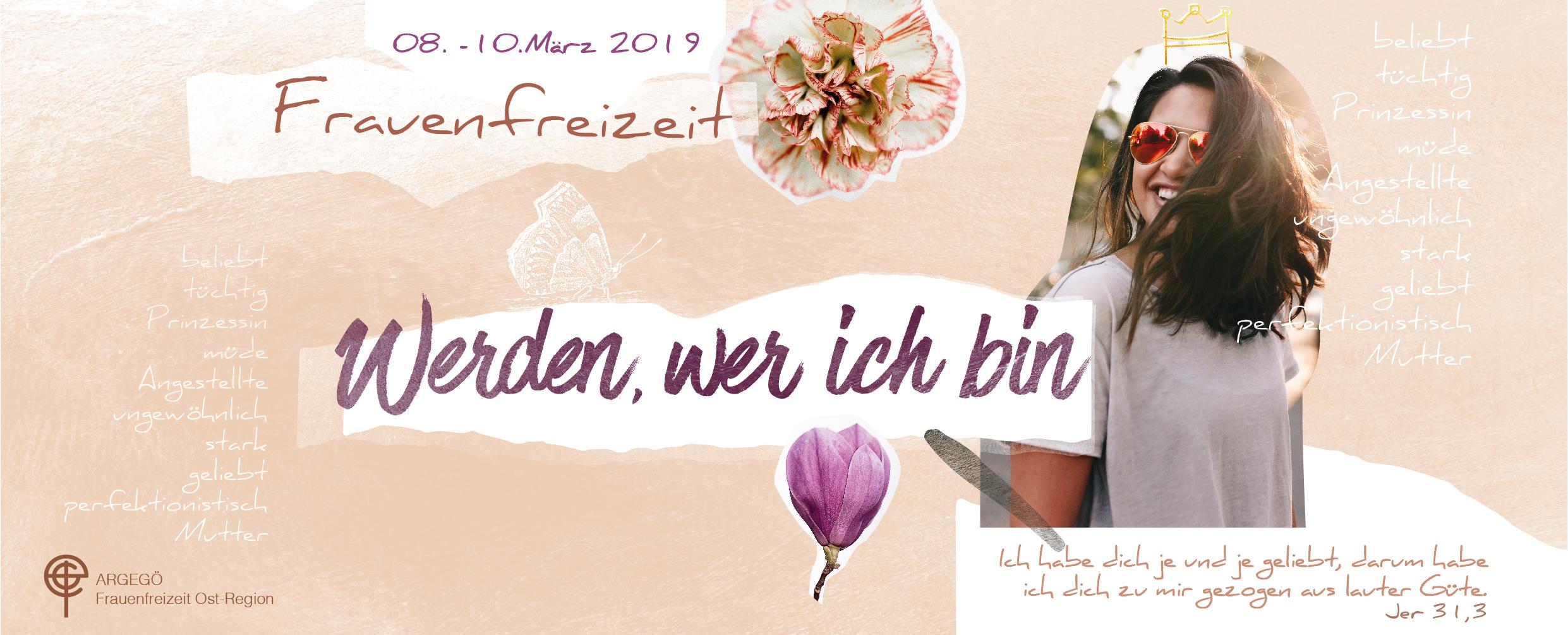 Einladung zur ARGEGÖ Frauenfreizeit Ost 2019