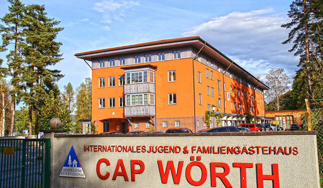 Außenansicht Jugendgästehaus Cap Wörth