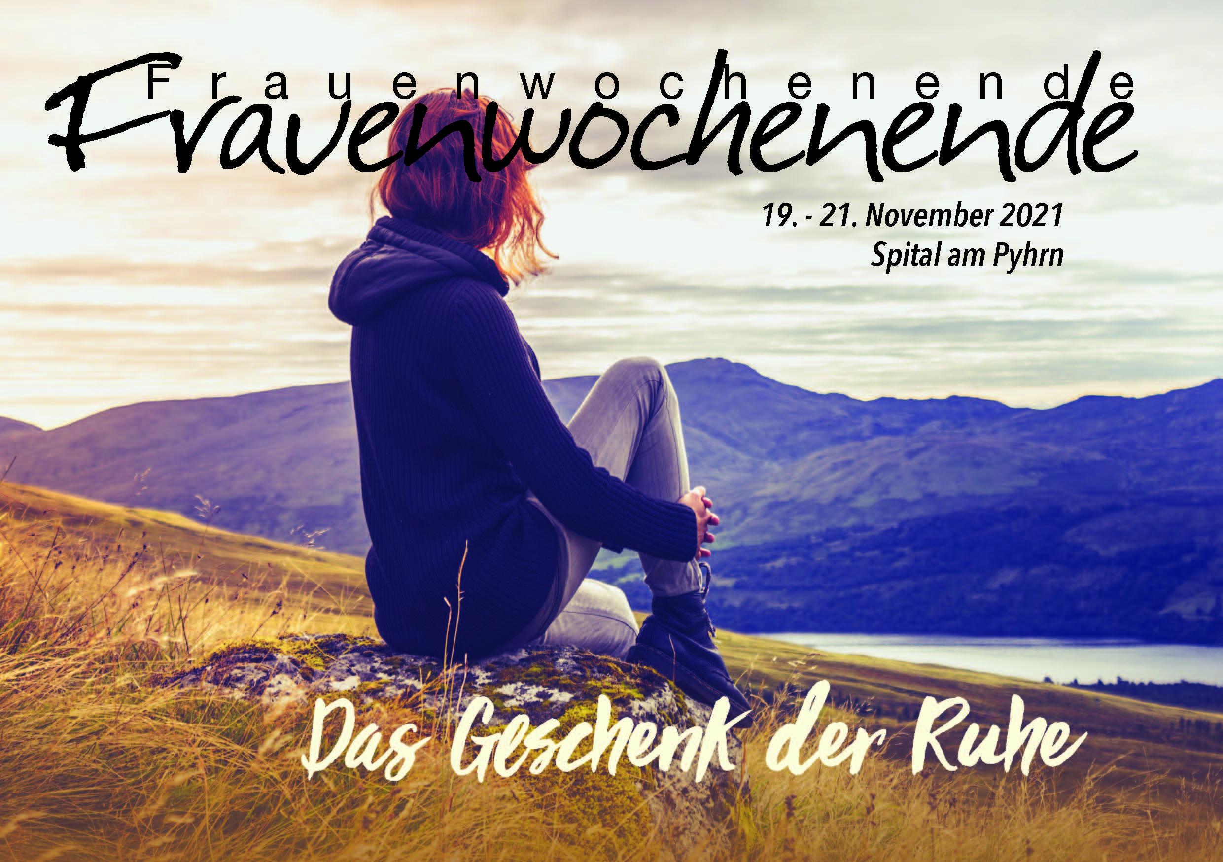 Einladung zur ARGEGÖ Frauenfreizeit Region Steiermark 2021